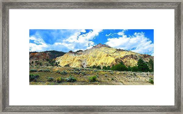 Big Rock Candy Mountain - Utah Framed Print