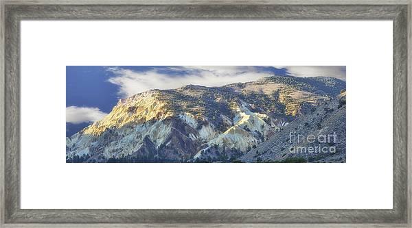 Big Rock Candy Mountains Framed Print
