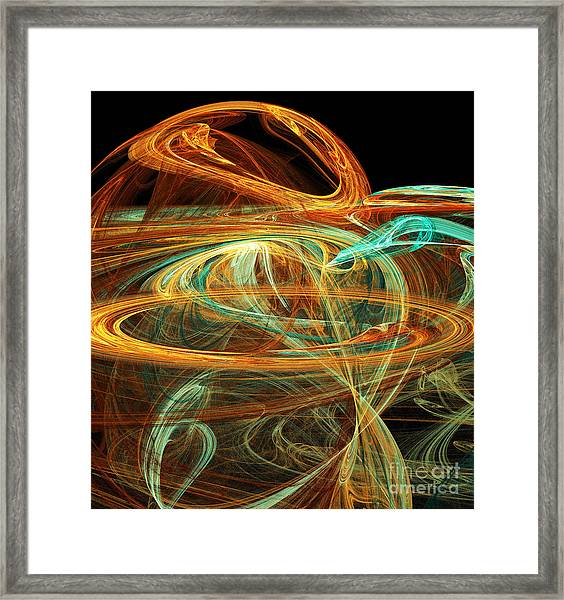 Birth Of A New Planet Framed Print