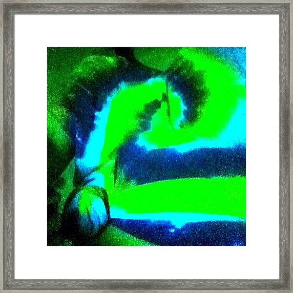 Black Light Framed Print