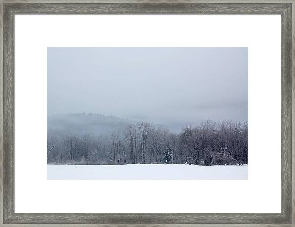 Bleak Mid-winter Framed Print