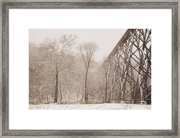 Blending In Framed Print by Cheryl Helms
