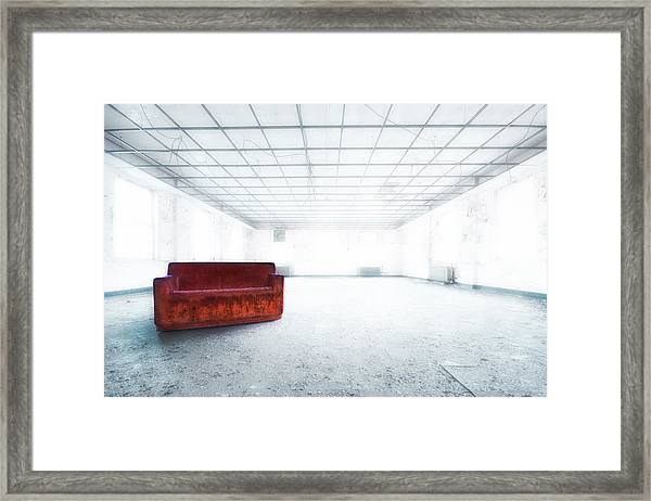 Blinded By Light. Enlightened By Darkness Framed Print