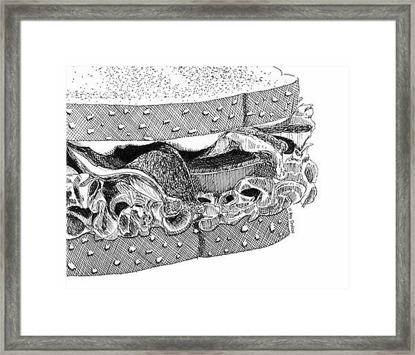 Blt Sandwich Framed Print
