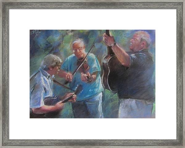 Bluegrass Blast Framed Print