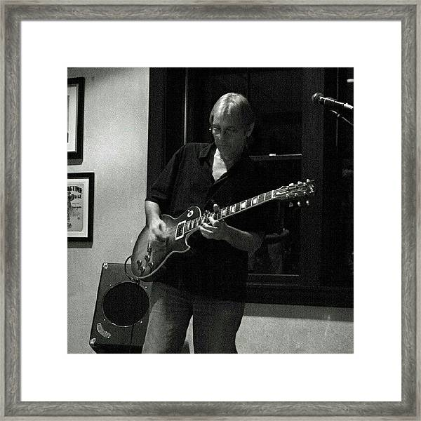 Bobby Of Big Daddy Band Framed Print