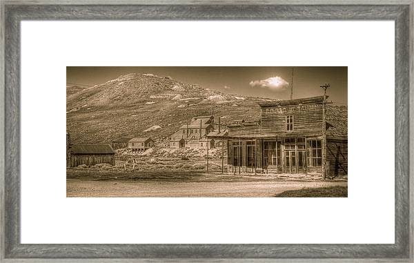 Bodie California Ghost Town Framed Print