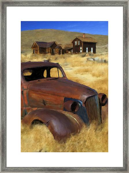 Bodie Classic Framed Print