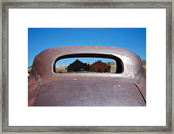 Bodie Ghost Town I - Old West Framed Print
