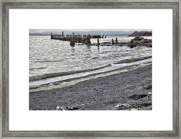 Bombay Beach Salton Sea Framed Print