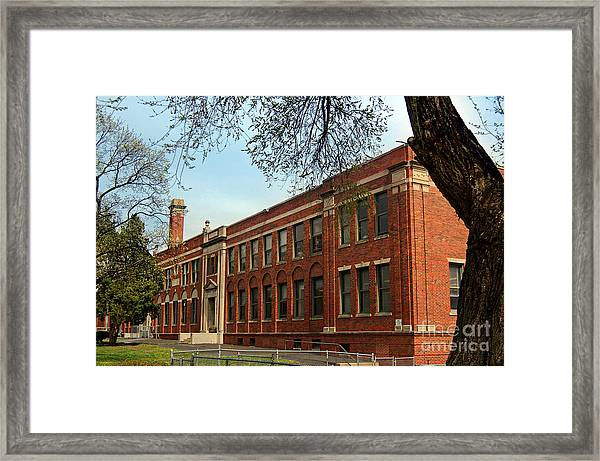 Border Star Elementary School Kansas City Missouri Framed Print