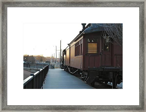 Boston And Maine Framed Print