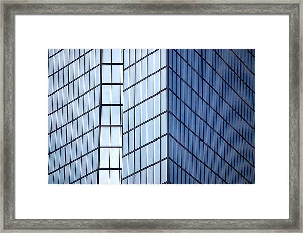 Boston Squares Framed Print