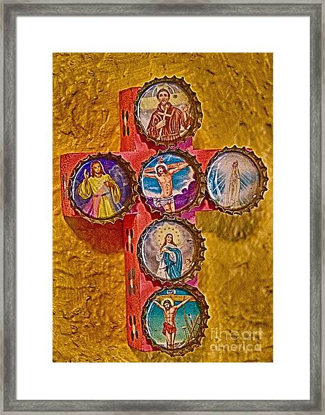 Bottled Religion Framed Print