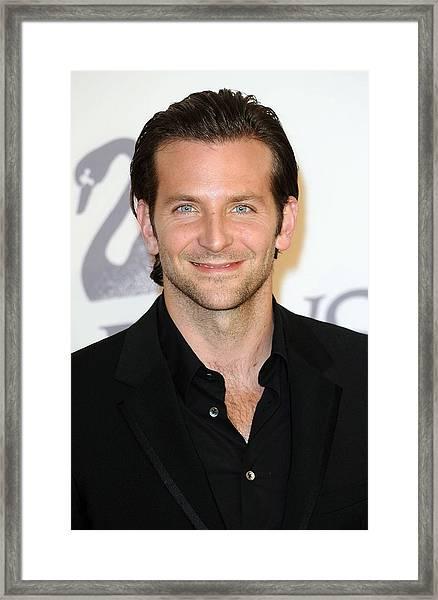 Bradley Cooper At Arrivals For The 2009 Framed Print