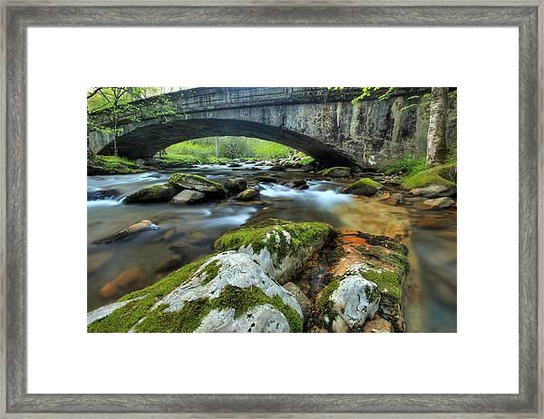 Bradley Fork Arch Bridge Framed Print