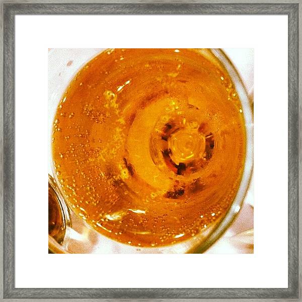 #brazil #beer #keepofkalessin Framed Print