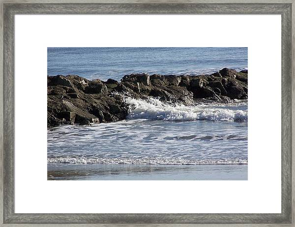 Breakwater  Framed Print