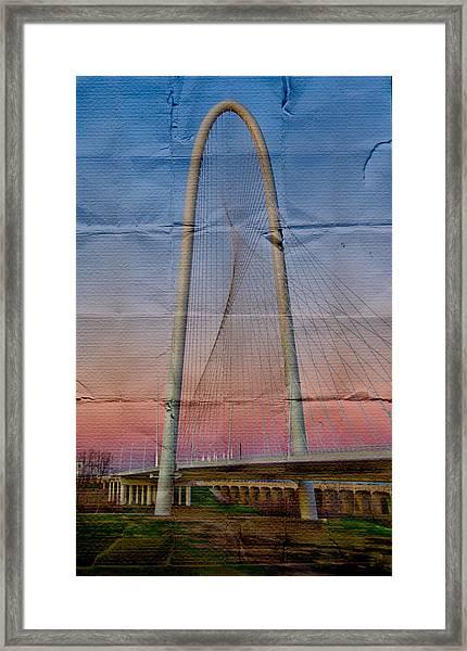 Bridge On Paper Framed Print