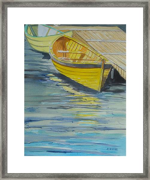 Bright Reflections Framed Print
