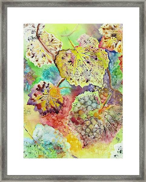 Broken Leaf Framed Print