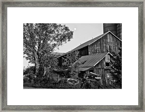 Brownies Barn  Framed Print