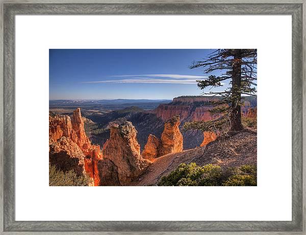 Bryce Sunrise Framed Print