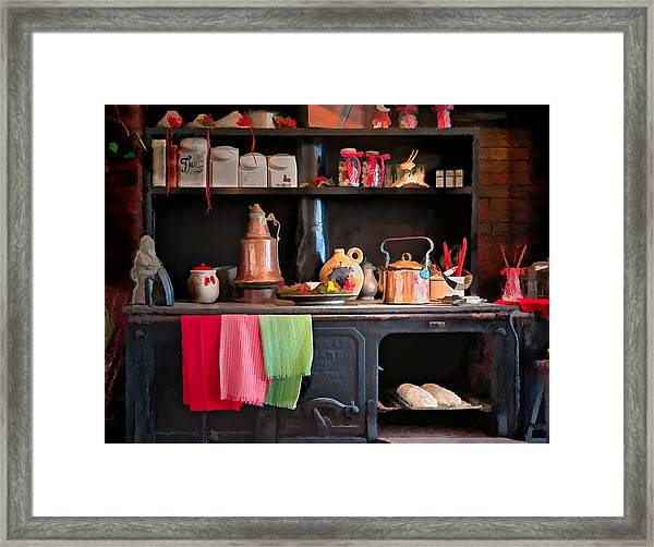 Buns In The Oven Framed Print