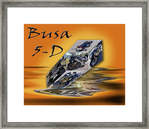 Busa 5-d Framed Print