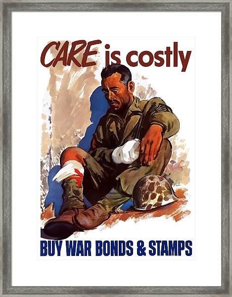 Buy War Bonds And Stamps Framed Print