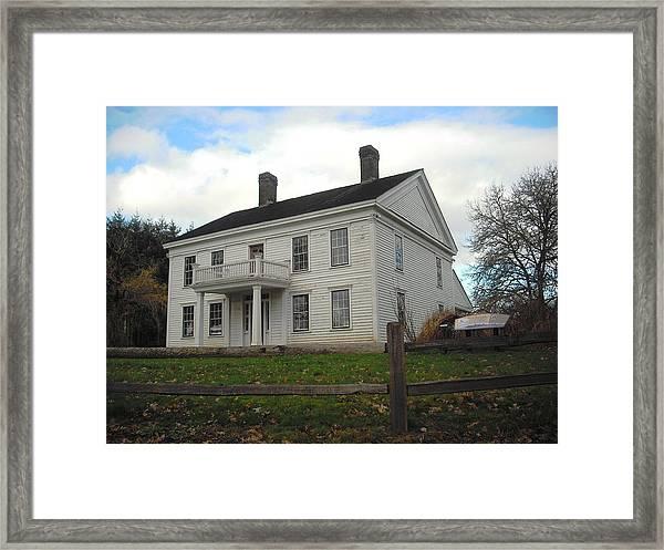 Bybee Howell House Framed Print