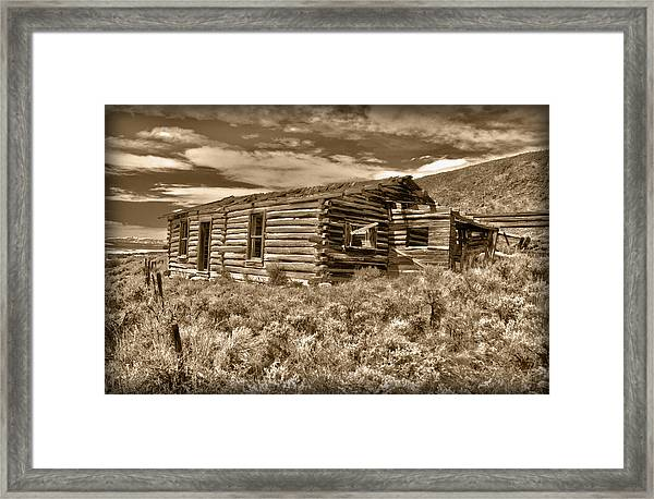 Cabin Fever Framed Print