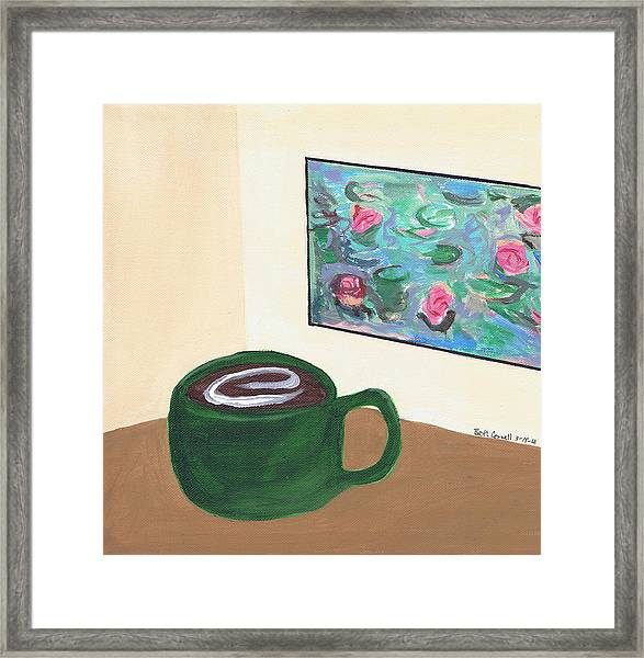 Cafe Monet Framed Print