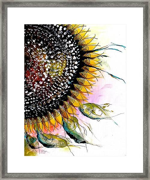 California Sunflower Framed Print