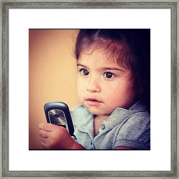 #candid #portrait #childreen #travel Framed Print