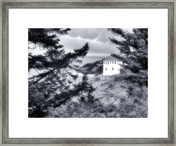 Cape Foulweather Framed Print