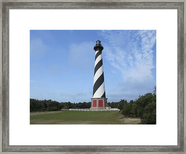 Cape Hatteras Light House Framed Print
