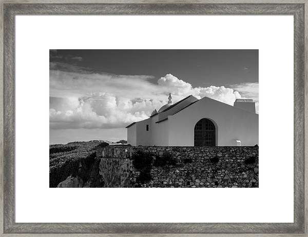 Capela Do Baleal Framed Print