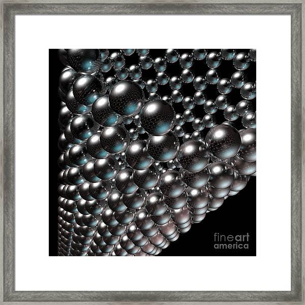 Carbon Nanotube 8 Framed Print