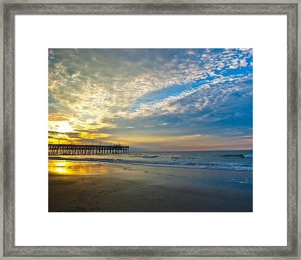 Framed Print featuring the photograph Carolina Sunrise by Francis Trudeau