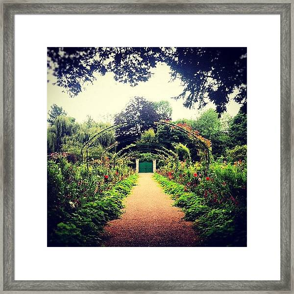 Casa Monet Framed Print