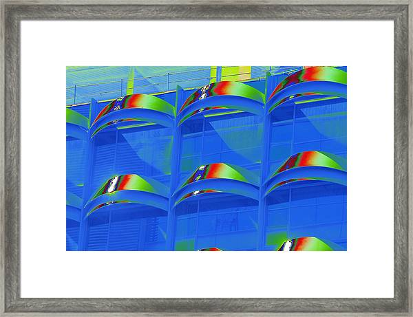 Casals Bells In Blue Framed Print
