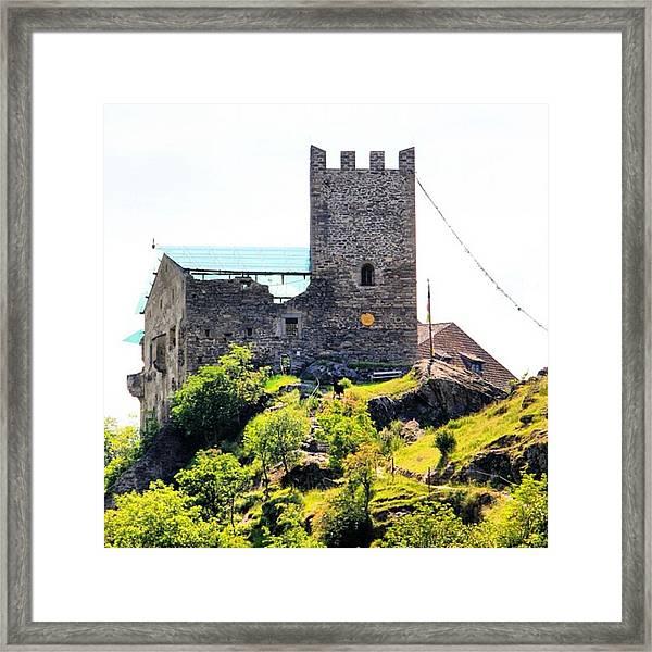 Castel Juval Framed Print
