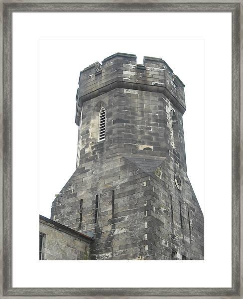 Castle Turret Framed Print