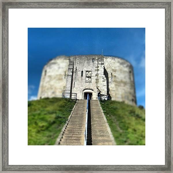#castle #york #yorkuk #uk #england Framed Print
