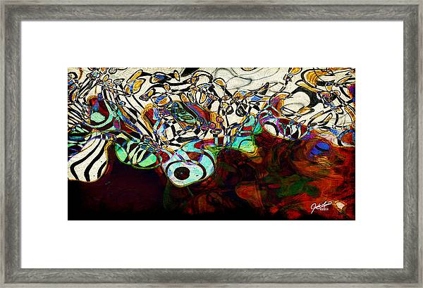 Catfish And Beansprouts Framed Print