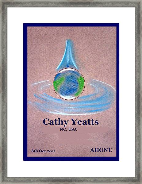 Cathy Yeatts Framed Print