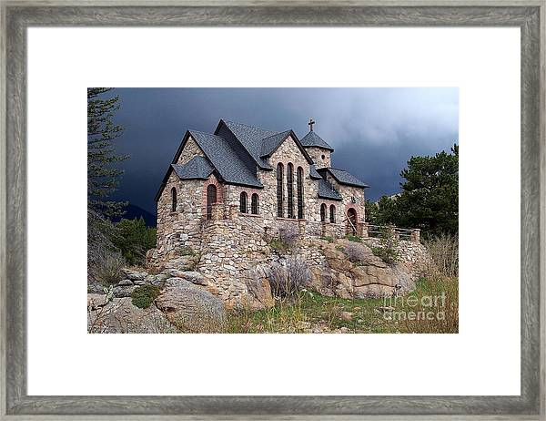 Chapel On The Rocks No. 1 Framed Print