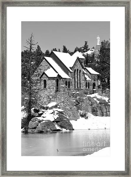Chapel On The Rocks No. 2 Framed Print