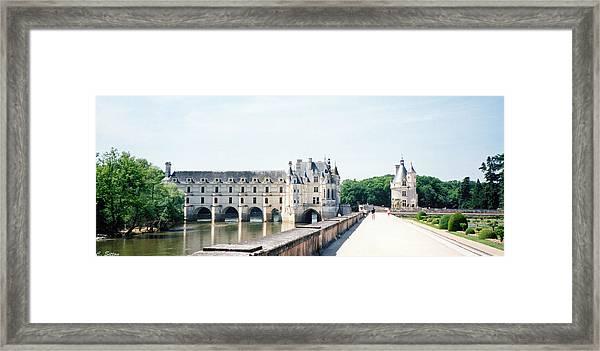 Chateau Chenonceau Framed Print